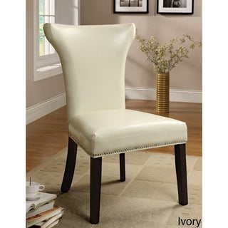 Furniture of America Flarisa Contemporary Accent-Dining Chairs (Set of 2)