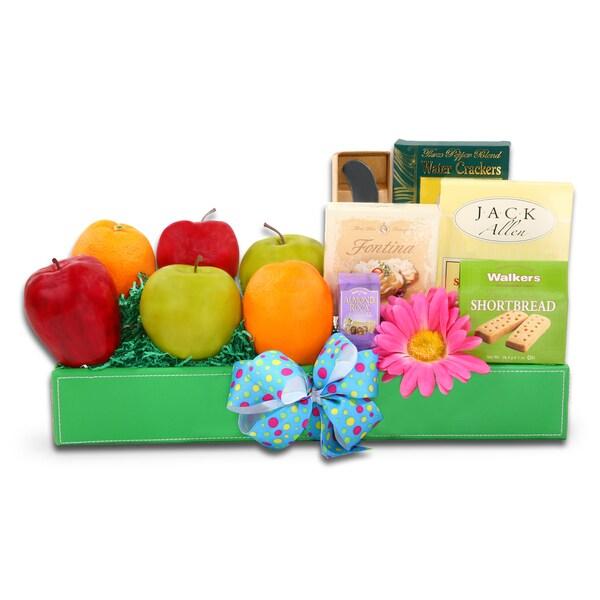 Alder Creek Gift Baskets Deluxe Springtime Favorites
