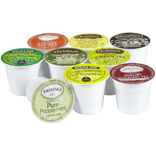 44-Count K-Cups Tea Sampler for Keurig Brewers
