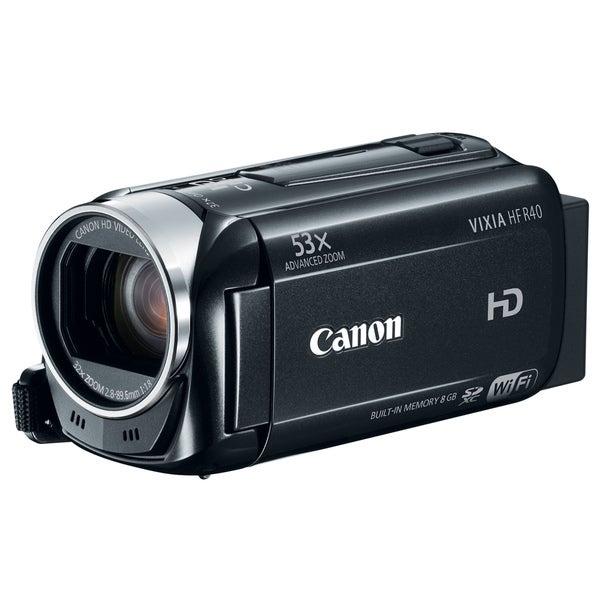 Canon VIXIA HF R40 Digital Camcorder