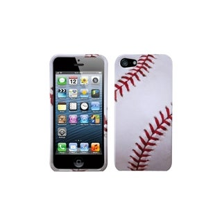 INSTEN Baseball-Sports Printed Design Hard Phone Case Cover for Apple iPhone 5