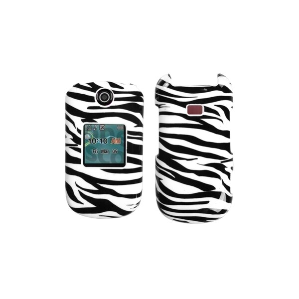 INSTEN Zebra Skin Hard Case Cover for Samsung R270 Chrono 2/ Contour 2