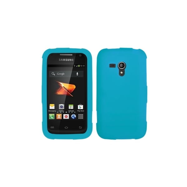INSTEN Tropical Teal Silicone Case Cover for Samsung M830 Galaxy Rush