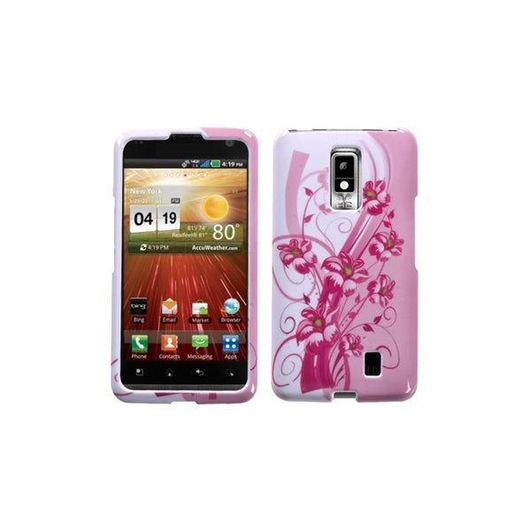 INSTEN Blooming Lily Phone Case Cover for LG VS920 Spectrum