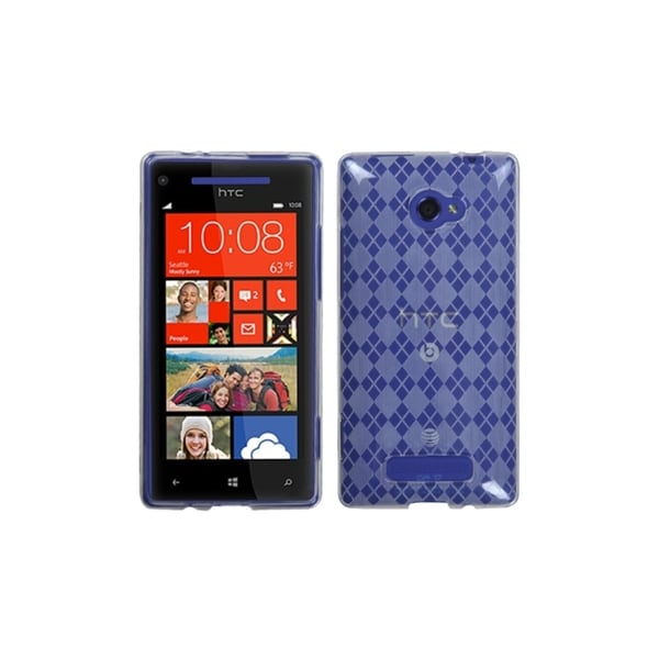 INSTEN T-Clear Argyle Candy Skin Cover for HTC Windows Phone 8X