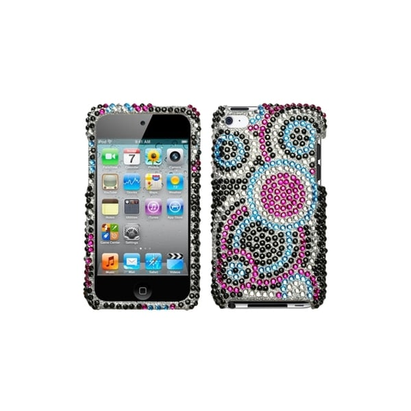 INSTEN Bubble Diamante Cover for Apple iPod Touch Generation 4