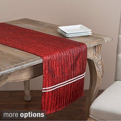 Beaded Design Table Linens