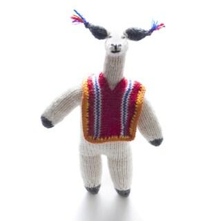 Llama Wearing Poncho (Peru)