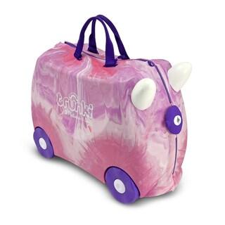 Shop Melissa Amp Doug Trunki Purple Pink Swirl Luggage Toy