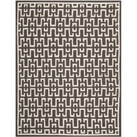 Safavieh Hand-woven Moroccan Reversible Dhurrie Chocolate Brown Wool Rug - 6' x 9'