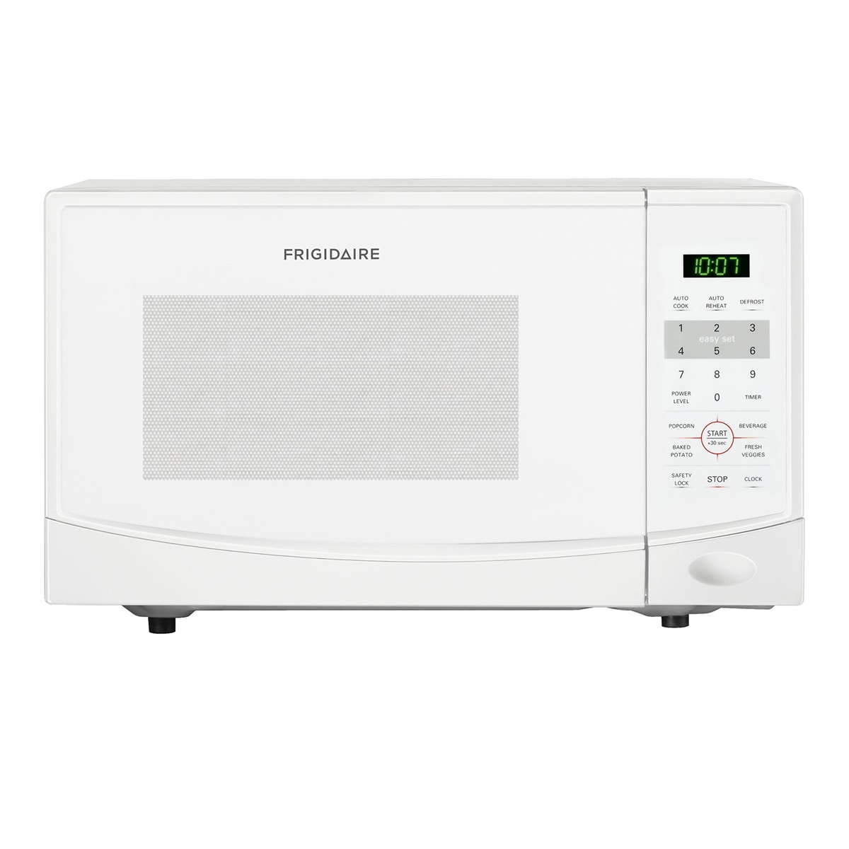 Frigidaire 0.9-cubic-foot White Countertop Microwave Oven...