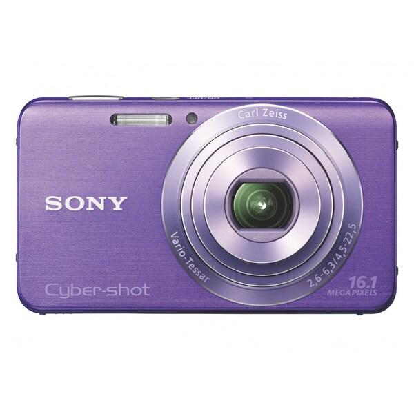 Sony Cyber-shot DSC-W630 16.1MP Violet Digital Camera