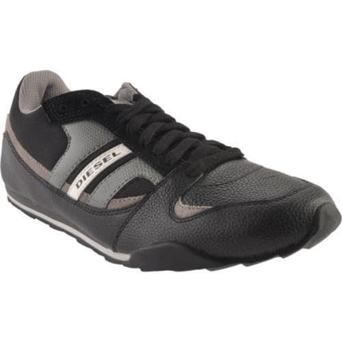 Men's Diesel Long Term Gunner Black/Elephant Skin/Grey Gargoyle - Thumbnail 0
