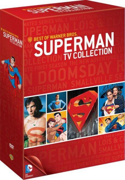 The Best of Warner Bros: Superman TV Collection (DVD)