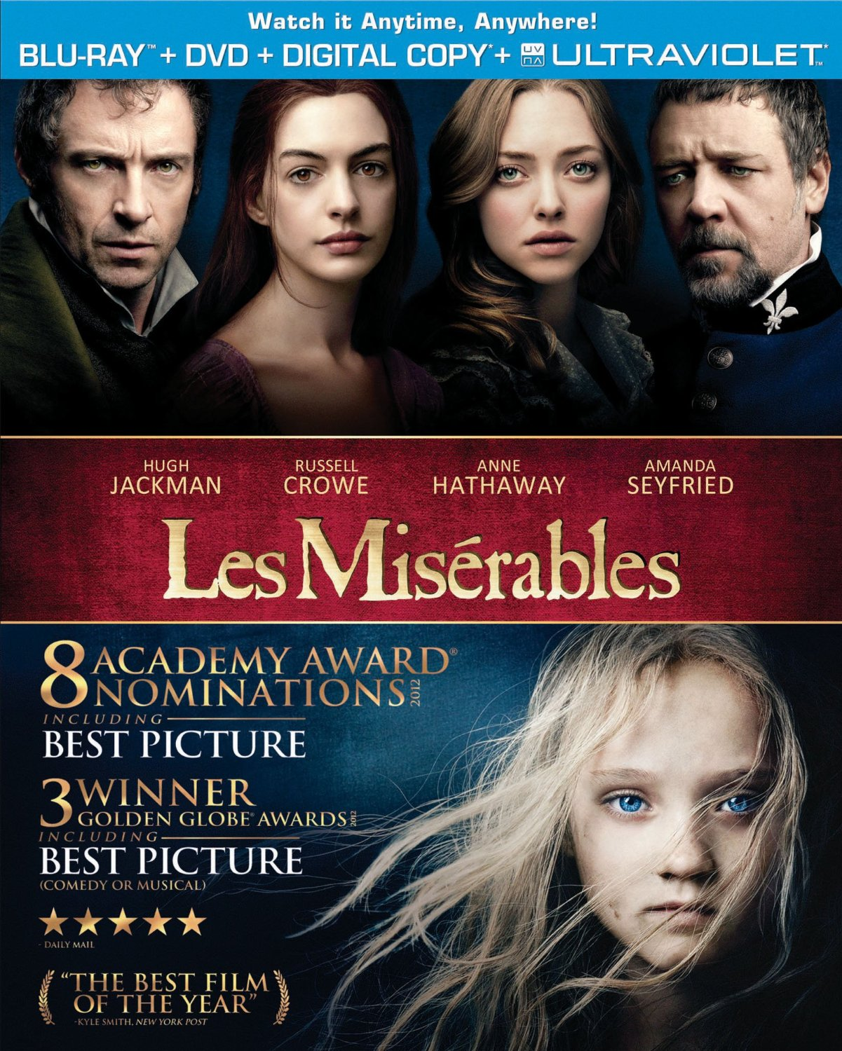 Les Miserables (Blu-ray/DVD)