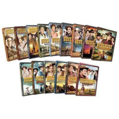 Gunsmoke: Eight Season Pack (DVD)