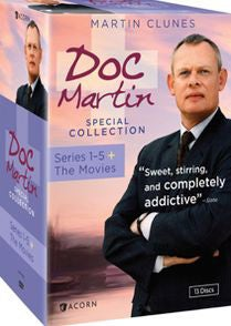 Doc Martin Special Collection: Series 1-5 + The Movies (DVD)