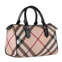 Burberry Nova Check Bowling Bag