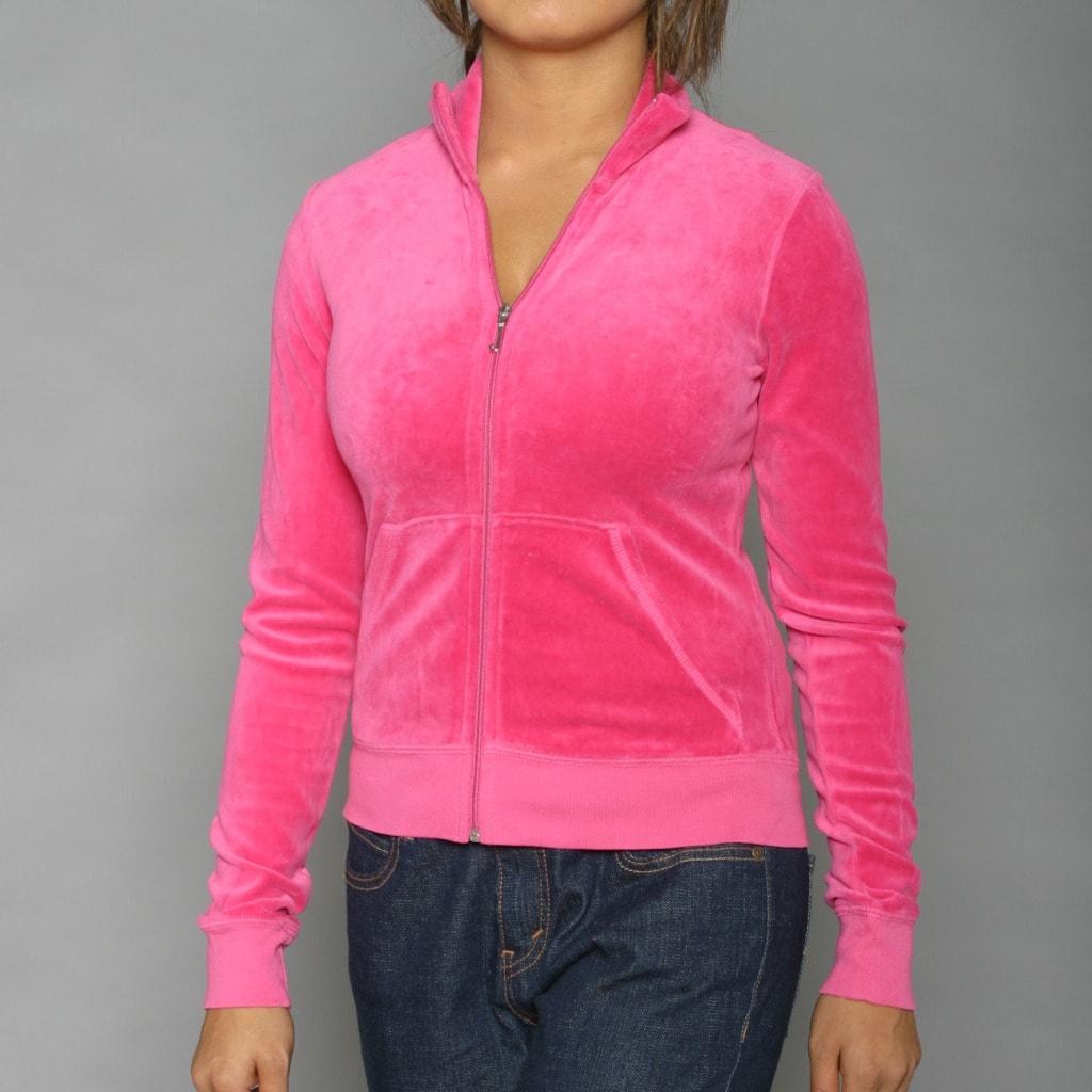 Juicy Couture Women's Fuschia Nook & Cranny Track Jacket