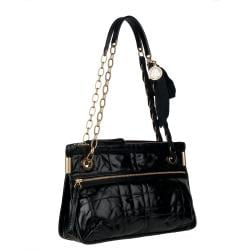 Lanvin Black Amalia Leather Crossbody Bag - Thumbnail 1