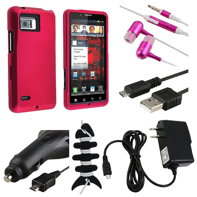Case/ Headset/ Wrap/ Chargers/ Cable for Motorola Droid Bionic XT875