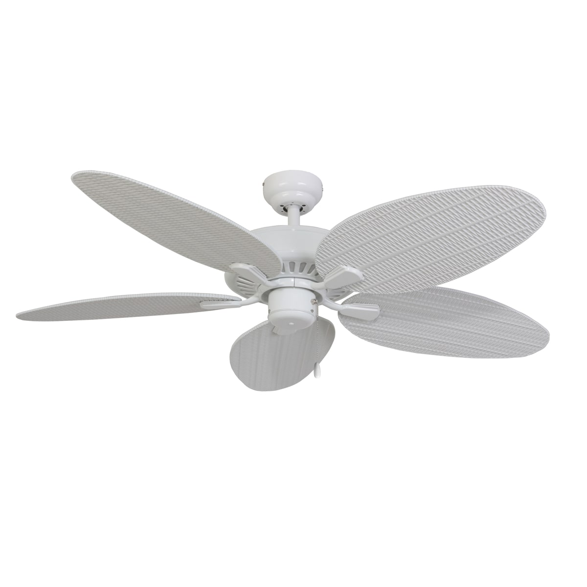 EcoSure Siesta Key White 52-inch 5-blade Ceiling Fan - Thumbnail 0