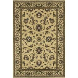 Astoria Ivory/ Green Traditional Area Rug - 10' x 12'7 - Thumbnail 0