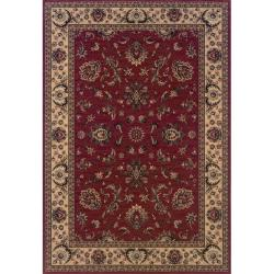 "Astoria Red/ Ivory Traditional Area Rug (10' x 12'7) - 10' x 12'7"" - Thumbnail 0"
