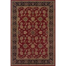 Astoria Black/ Ivory Traditional Area Rug - 10' x 12' 7 - Thumbnail 0
