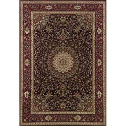 Astoria Brown/ Red Traditional Area Rug (10' x 12'7)