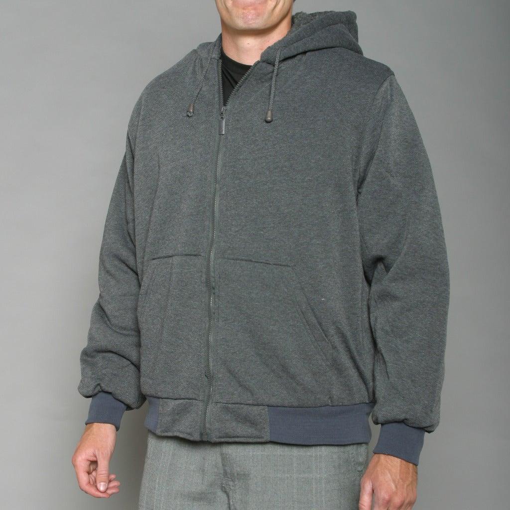 Sportier Men's Charcoal Hoodie