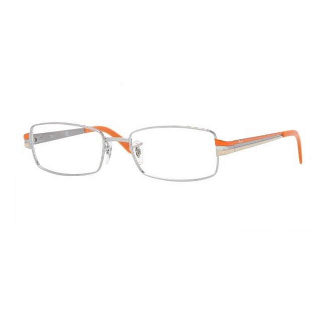 Ray-Ban Unisex Silver/ Orange Optical Frames