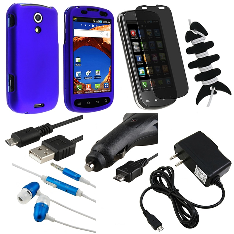 BasAcc Case/ Headset/ LCD Protector/ Charger for Samsung Epic 4G D7000