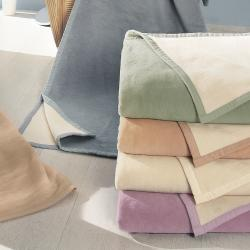 Bocasa Smoke Woven Organic Cotton Throw Blanket - Thumbnail 1
