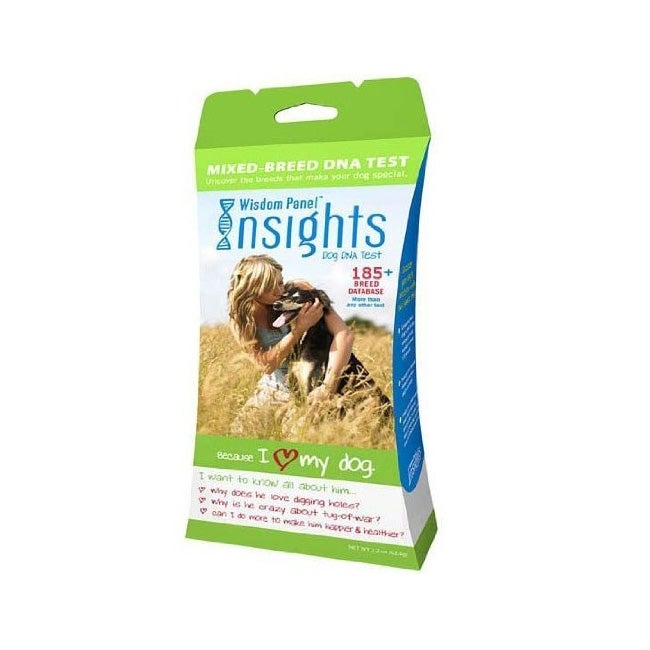 Mars Veterinary Wisdom Panel Insights Dog Breed DNA Test Kit