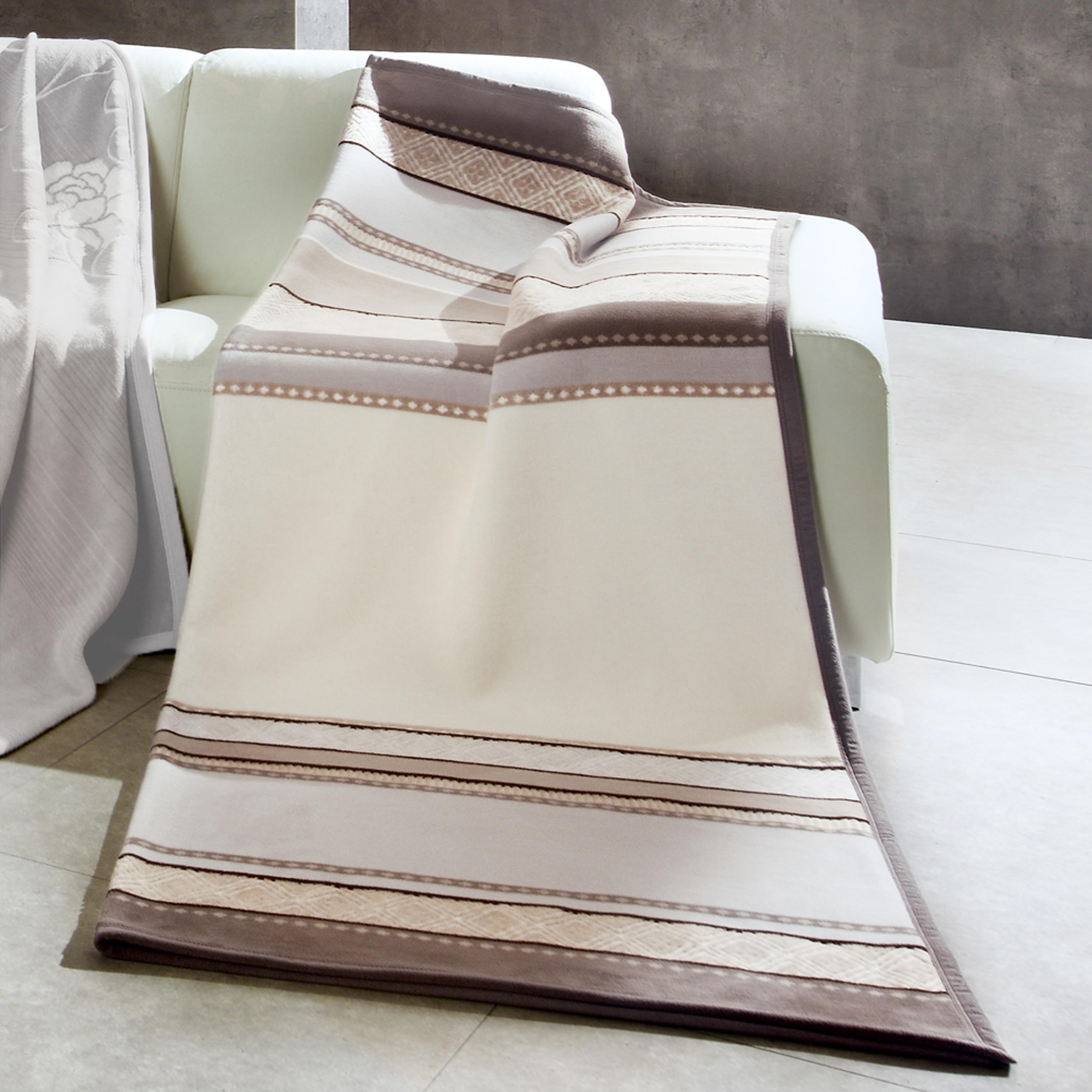 Bocasa Gironde Woven Chenille Throw Blanket (60 x 80)
