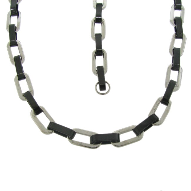 Two-tone Stainless Steel Jewelry Set