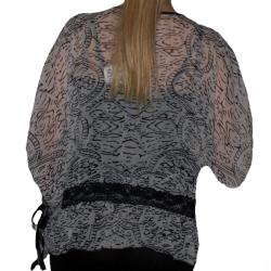Angie Women's Sheer Colored Top