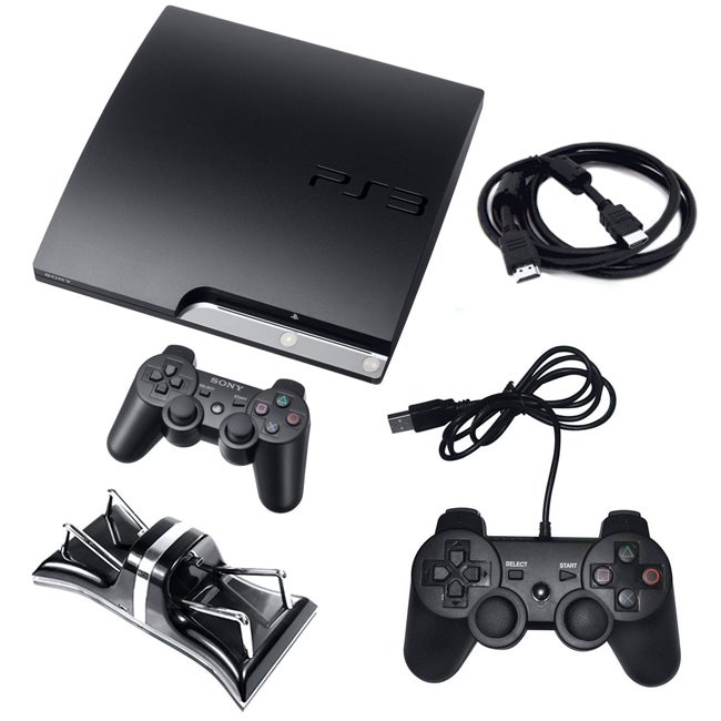 PS3 - 160GB Bundle with Extra Controller, Charger, and More
