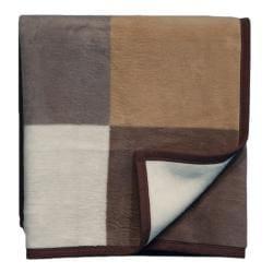 Bocasa Big Check Woven Throw Blanket - Thumbnail 1