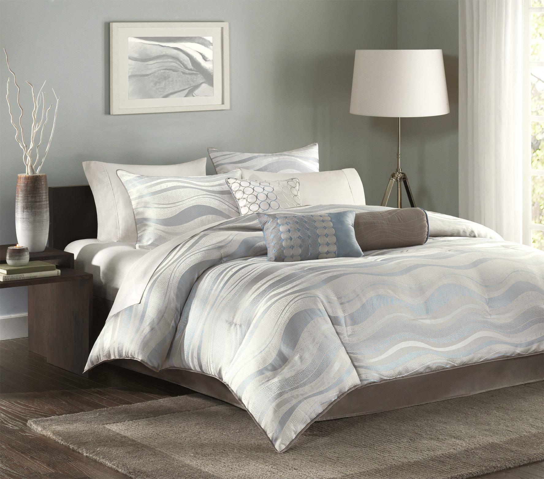 Madison Park Aegean 7-piece King/ California King-size Comforter Set