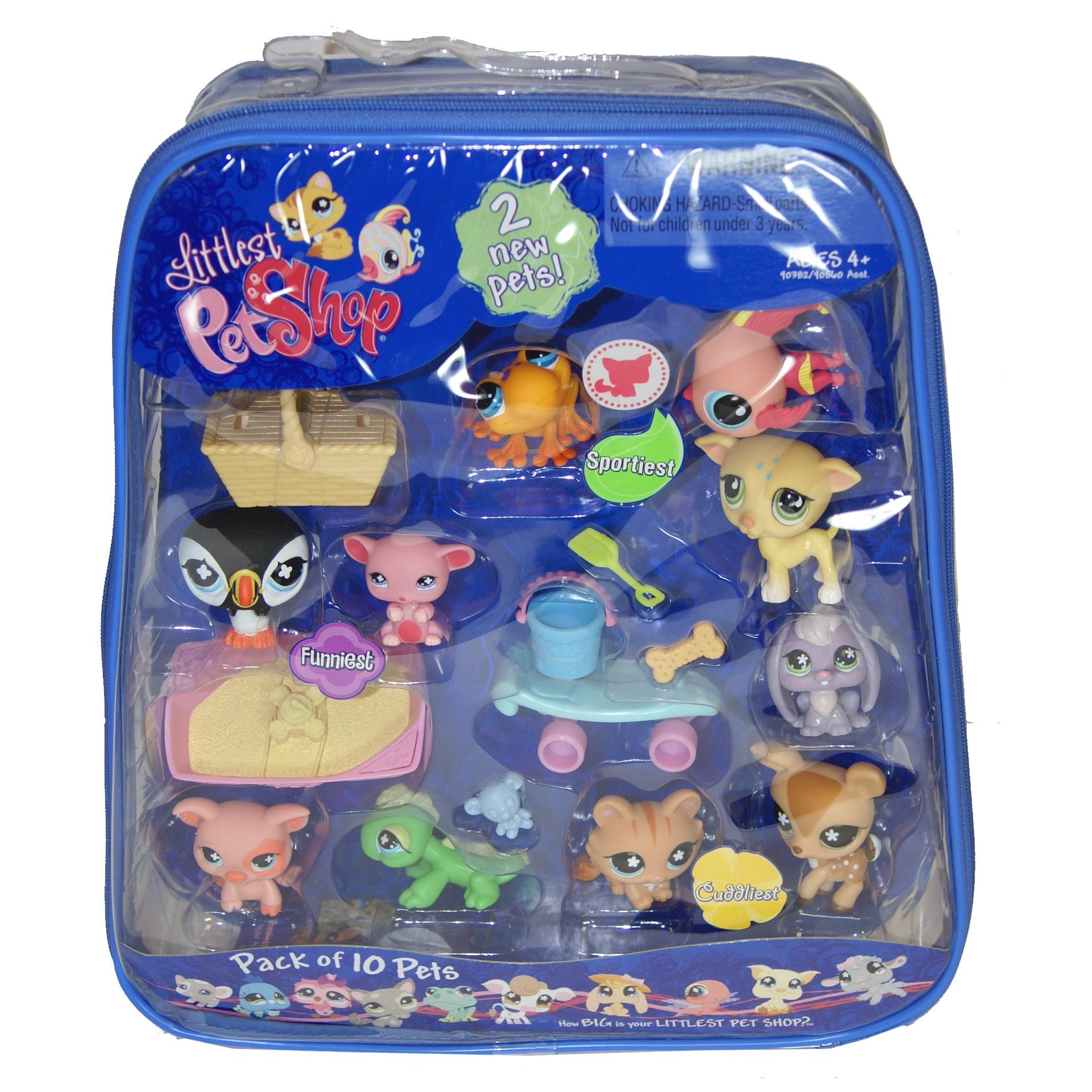 Shop Littlest Pet Shop 10 Pack Pet Bundle Free Shipping