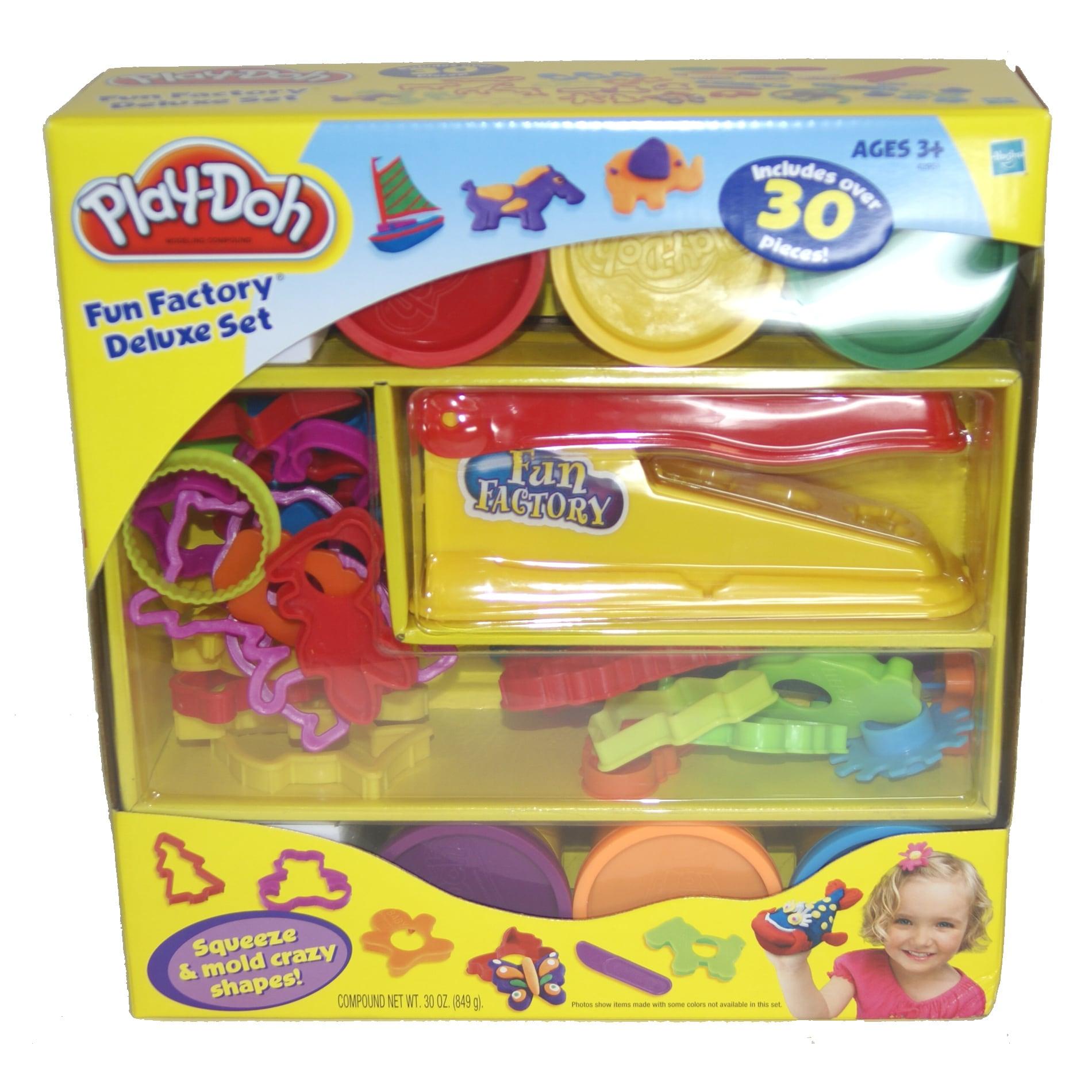 Hasbro Play-doh Fun Factory Deluxe Set