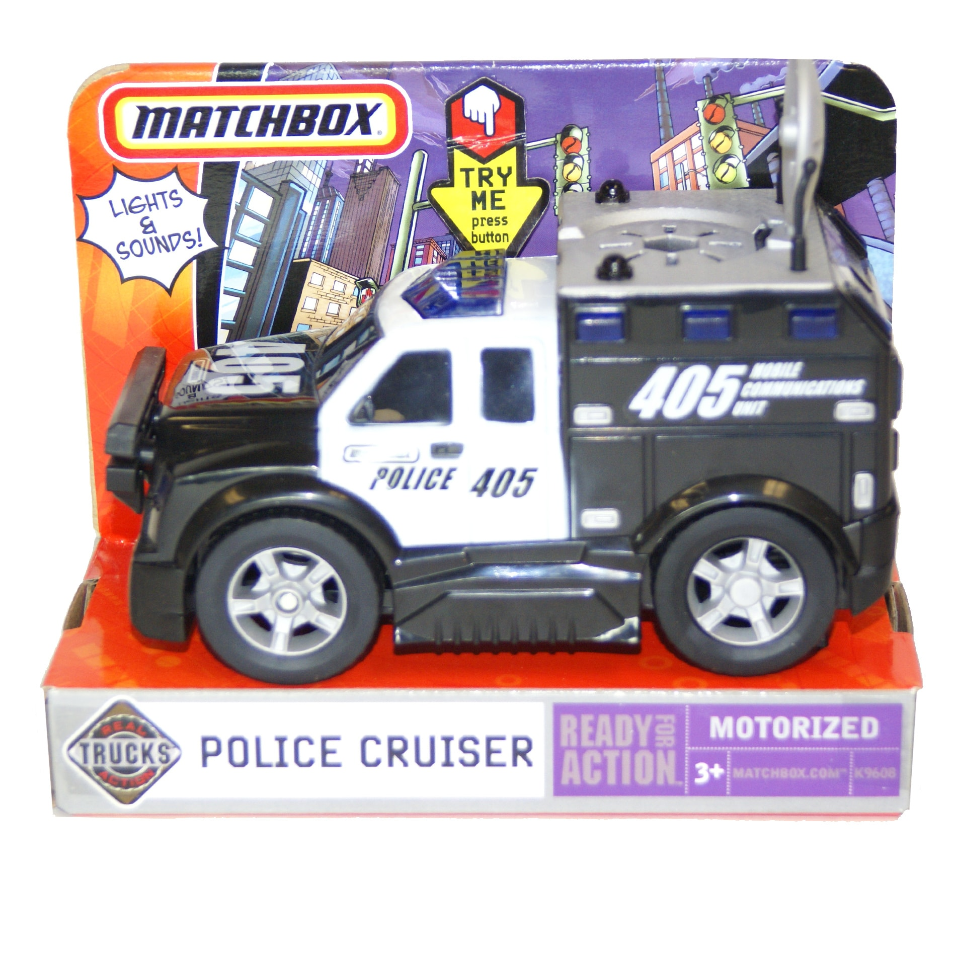 Matchbox Real Action Police Cruiser