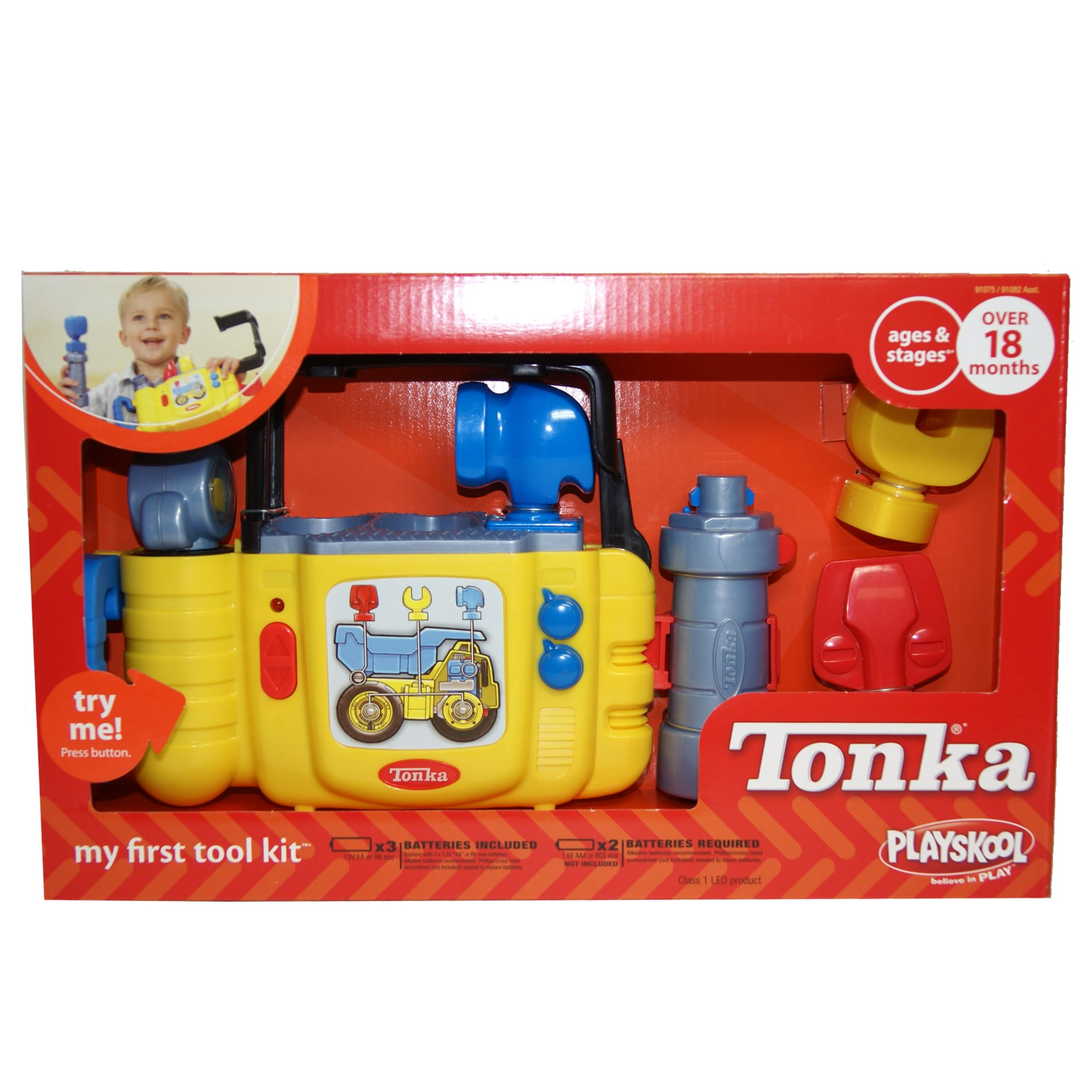 Hasbro Tonka My First Tool Kit