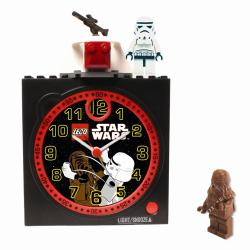 Lego Boy's Star Wars Clock