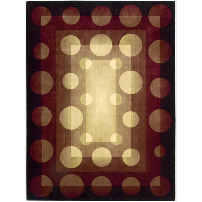 Nourison Parallels Multicolored Geometric Rug (7'6 x 9'6)
