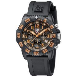 Luminox Men's 3089 Orange Evo Colormark Chronograph Watch