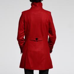 Nuage Women's Melton Wool-blend Short Coat