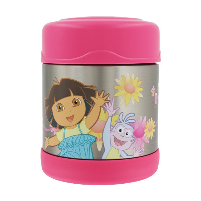 Thermos TherMax Funtainer Dora The Explorer 10 ounce Food Jar